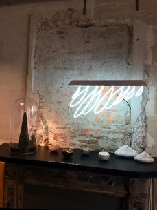 Lampe PLUIE DANS LA MAISON, Edition Constance Guisset Studio, 2012