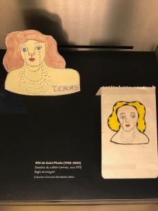 Niki de Saint-Phalle, dessin du collier Larmes 1970