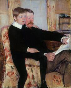 Mary Cassatt Alexander Cassatt et son fils © Musée Jacquemart André