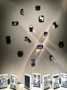 Galerie NEGROPONTES, Perrin & Perrin, Splash 2017, Installation en verre