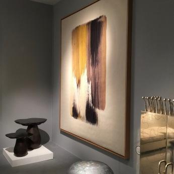 Galerie MOUVEMENTS MODERNES, Alexandra Mocanu Tapisserie laine et coton 2017