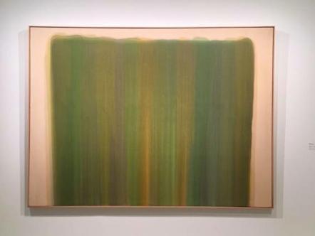 Morris Louis, Vernal, 1960 Madrid, Museo Nacional Centro de Arte Reina Sofia.