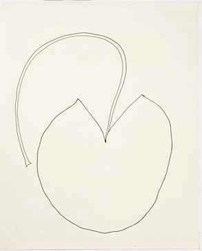 Ellsworth Kelly Water Lily 1968 Encre sur papier Spencertown, Collection Ellsworth Kelly