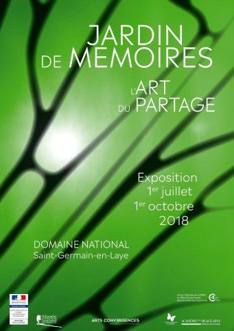 Jardins de mémoires l'art du partage. Domaine de Saint Germain en Laye