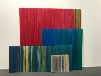 Sheila Hicks Galleria Massimo Minini ©thegazeofaparisienne