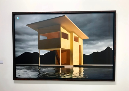 Jaime Casebere Yellow house on water Sean Kelly ©thegazeofaparisienne