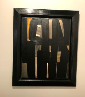 Pierre Soulages Galerie Hopkins ©thegazeofaparisienne