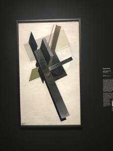 Gustav Klucis - Suprématisme, 1920. Huile sur toile - Galerie Nationale Trétiakov, Moscou