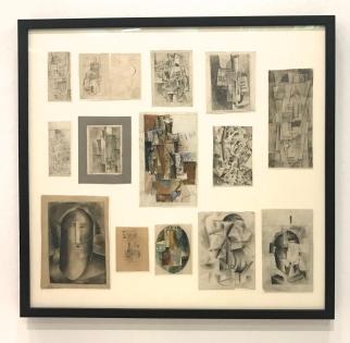 """Ounovis - Présentation pour l'exposition """"Erste russische Kunstausstellung"""" (première exposition russe), Berlin, 1922. Galerie Nationale Trétiakov, Moscou"""