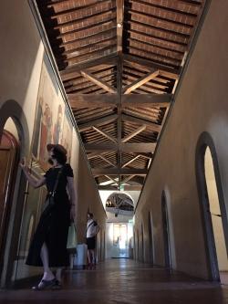 Couvent San Marco, couloir des celllules des moines