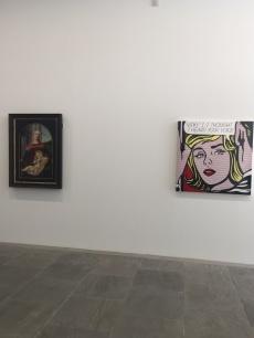 Boticelli versus Lichtenstein