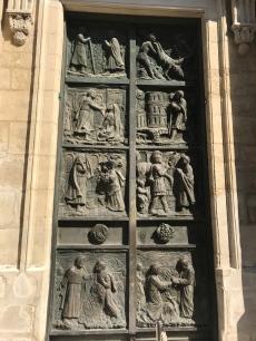Porte de l'Abbaye de Montmartre