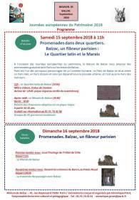 Maison de Balzac - Promenades balzaciennes dans le Quartier Latin et le Marais