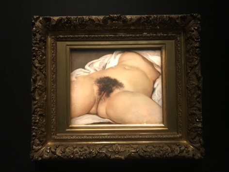 Gustave Courbet (1819-1877) L'origine du Monde 1866