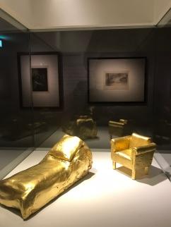 Hans Hollein (1934-2014) Divan et fauteuil de Freud 1984-1985