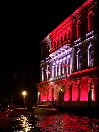 Réception au Palazzo Contarini Polignac