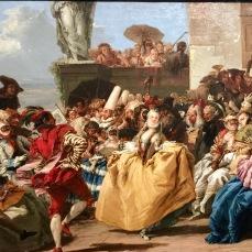 Giandomenico Tiepolo Scène de Carnaval ou le Menuet 1754