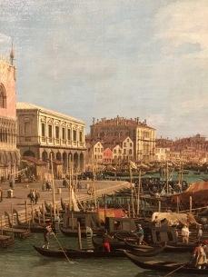 Gianantonio Canal dit Canaletto vue du Palazzo Ducale en direction de la Riva degli Schiavoni vers 1740