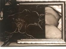 Installation de l'Origine du Monde dans le cabinet de Lacan