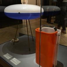 luminaires en verre acrylique 1957