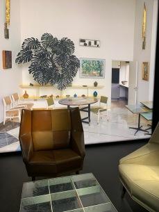 vue et mobilier de la Villa Planchart à Caracas