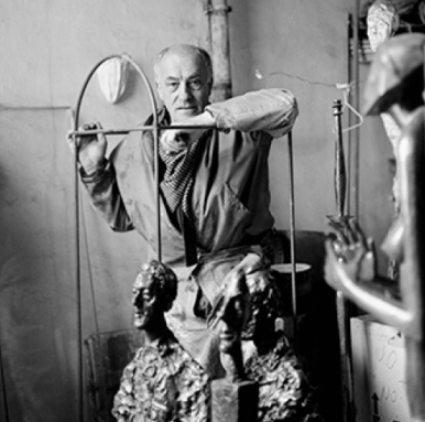 Diego Giacometti photographié par Cecil Beaton