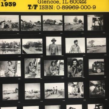 Planche contact 1939 FSA