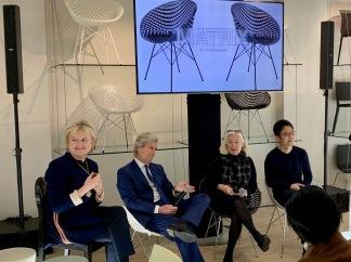 Paola Arigoni-Baudry, Claudio Luti, Chantal Hamaide et Tokujin Yoshioka