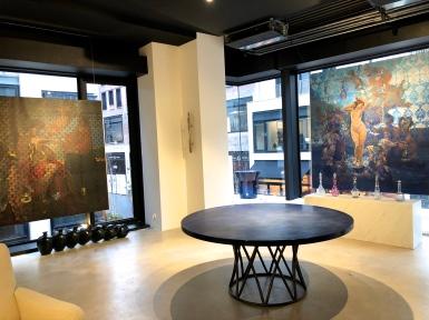 """Galerie Scène Ouverte - Exposition """"De la ligne à l'horison"""" Nicolas Aubagnac/Olivier Masmonteil"""