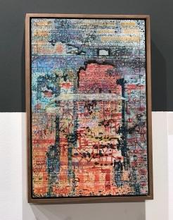 Jeronimo Elespe White desk, 38x25 cm @galerie Van Doren Waxter
