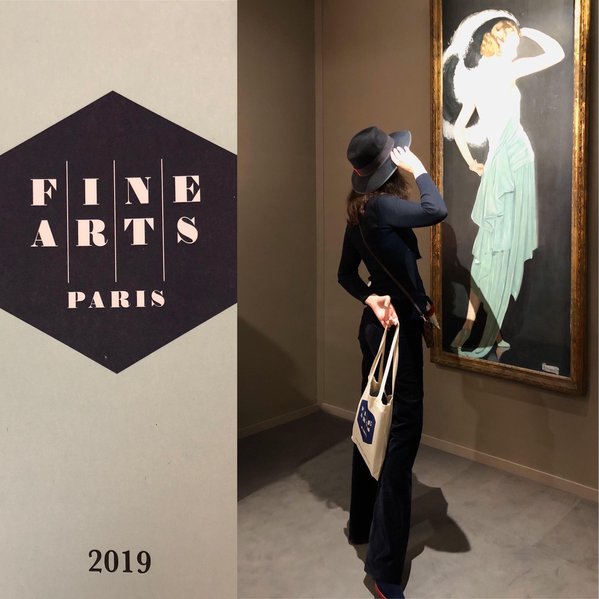 Fine Arts Paris 2019 - The Gaze of a Parisienne