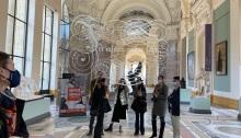 Laurence Aëgerter, Petit Palais - Expo Paris Musées - Christophe Leribault directeur du musée