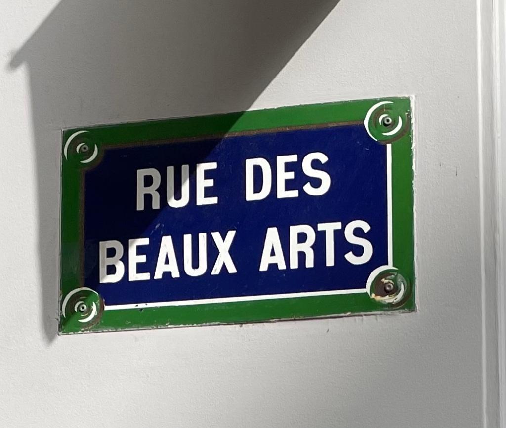 rue des Beaux Arts - Paris 6
