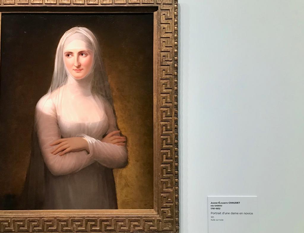 Constance Mayer 1774-1821, Autoportrait, c.1801, Boulogne-Billancourt, bibliothèque Paul-Marmottan, Académie des Beaux-arts, Institut de France