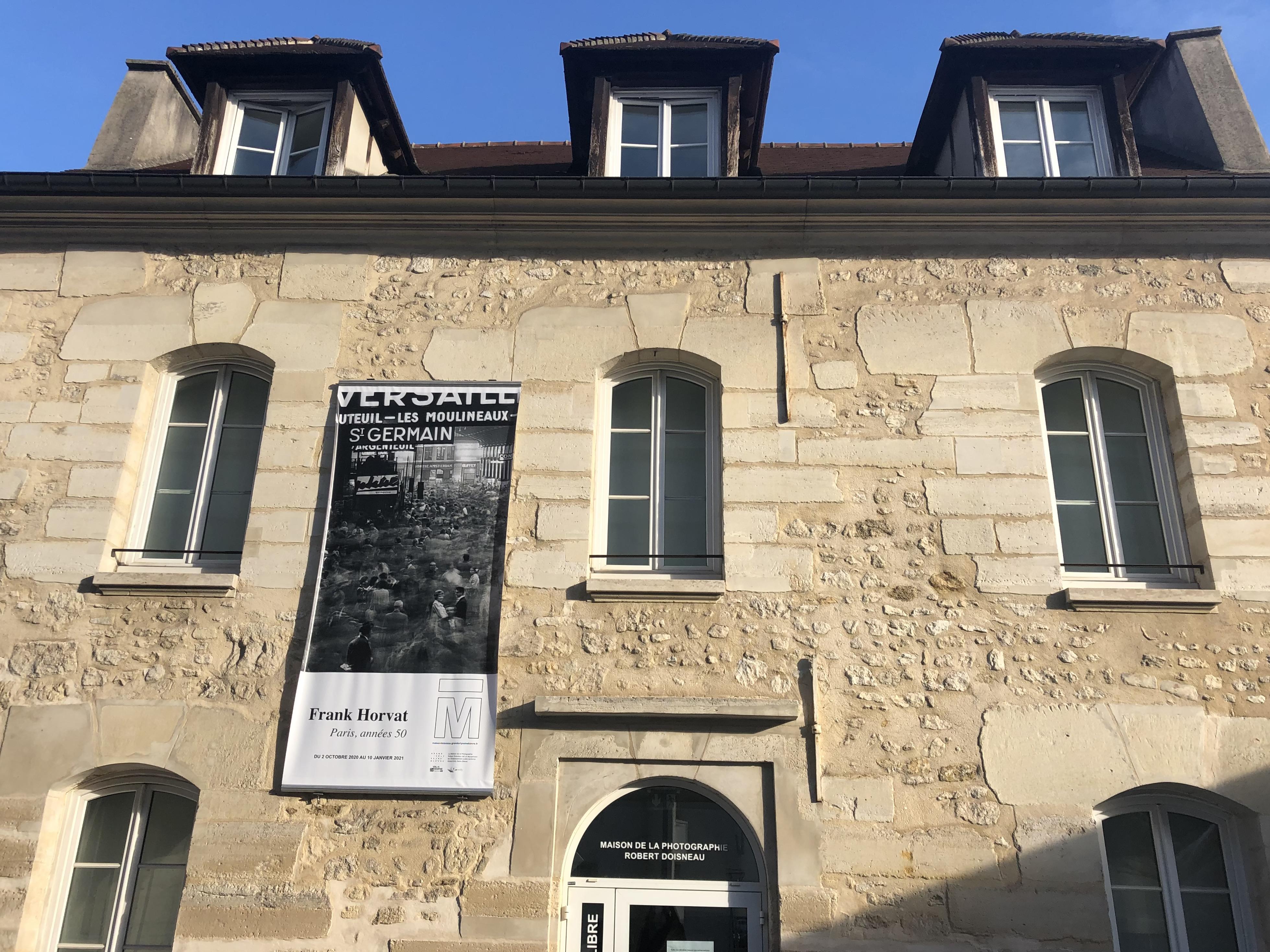 Maison Doisneau à Gentilly. Exposition Frak Horvat