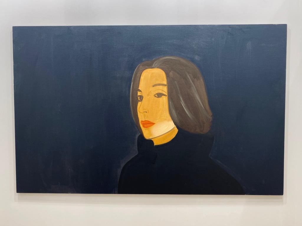 Alex Katz ,Vivien, Gladstone gallery.
